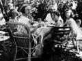 La famille Piaget dans le jardin, 1939