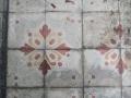 Sol en carreaux-ciment dans l'entrée