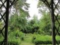 Le jardin, vu depuis la pergola